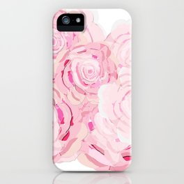 Shabby Chic Roes iPhone Case