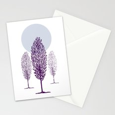 Cold Trees Stationery Cards