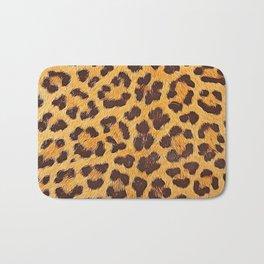Its a leopard pattern Bath Mat