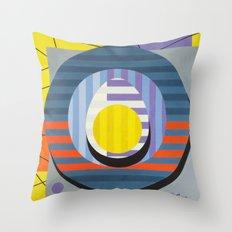 Egg - Paint Throw Pillow