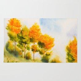 Autumn scenery #18 Rug