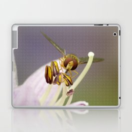 Hover on a Flower Laptop & iPad Skin
