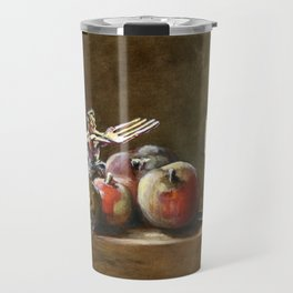 Still Life with Tiny Evil Ashes: After Chardin Travel Mug
