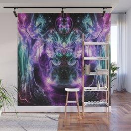 Ultraviolet Nexus Wall Mural