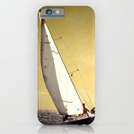 race boat iPhone Case