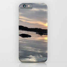 Sunset Glassy Waters iPhone Case