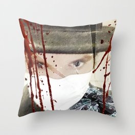 The Quarantine Sessions Number 4 Throw Pillow