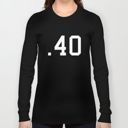 Caliber .40 Long Sleeve T-shirt