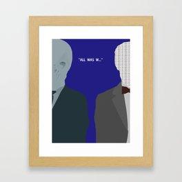The Doctors forgotten  Framed Art Print