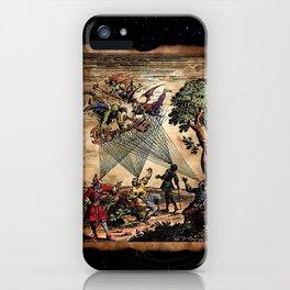Medieval Minstrel Spirits iPhone Case