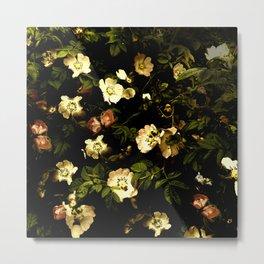 Floral Night I Metal Print