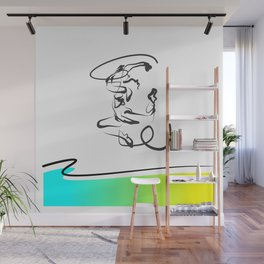 Enthusiastic Dance Wall Mural