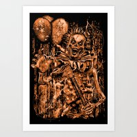 KILLER CLOWN Art Print