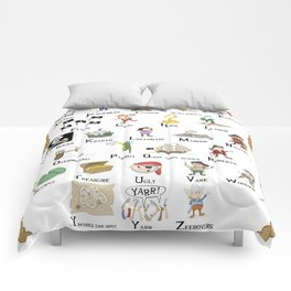 The ABCs of Piracy Comforters
