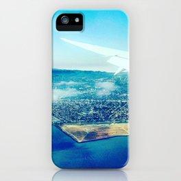 Landing in California iPhone Case