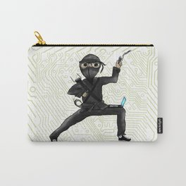 Cyber Ninja Carry-All Pouch