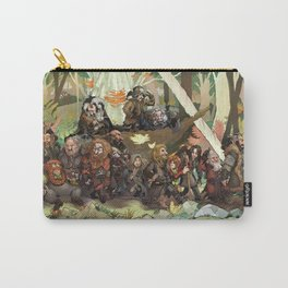 Walking Through the Woods Carry-All Pouch