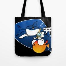 GO, FISH! Tote Bag