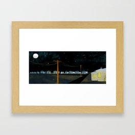 Night Landscape Framed Art Print