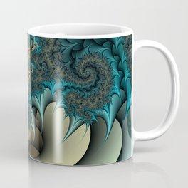 Birds of a Feather Fractal Coffee Mug