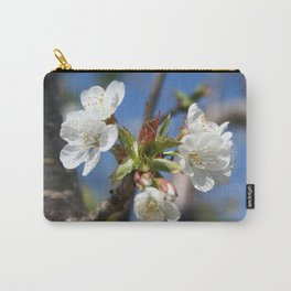 Cherry Blossom In Spring Sunlight Carry-All Pouch