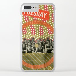 No Dark Sarcasm In The Classroom Clear iPhone Case