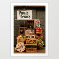 Picnic By Design 2013 Art Print