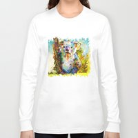 koala Long Sleeve T-shirts featuring Koala  by ururuty
