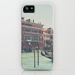 looking along the Grand Canal ... iPhone Case