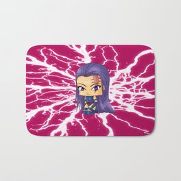 Chibi Psylocke Bath Mat