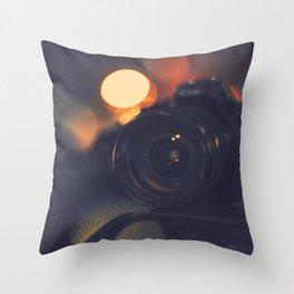 Where beauty is born Throw Pillow