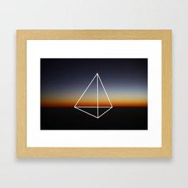 Geometry #20 Framed Art Print