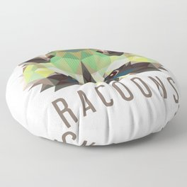 Raccoon Pet Parent Floor Pillow