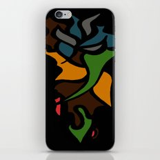 Abstract Puzzle iPhone & iPod Skin