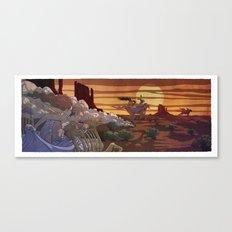Dream Ride Canvas Print
