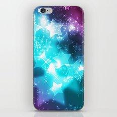 BLUE STARS  iPhone & iPod Skin