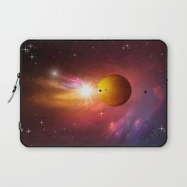 Star dust and interstellar gas. Laptop Sleeve