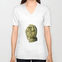 c3po V-neck T-shirts featuring C3PO by bkpena