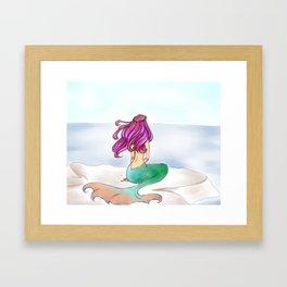 KG Beauty Mermaid Framed Art Print