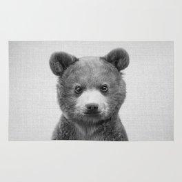 Baby Bear - Black & White Rug