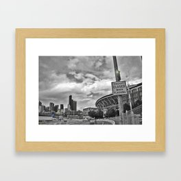viaduct CLOSED Framed Art Print