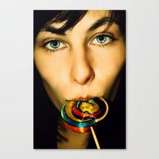 Acid Lollipops Canvas Print