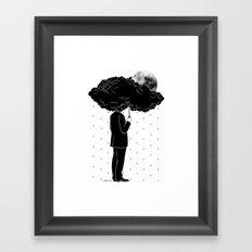 My life is a Storm Framed Art Print