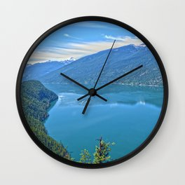 Heaven's Canvas  - Slocan Lake, B.C. Canada Wall Clock