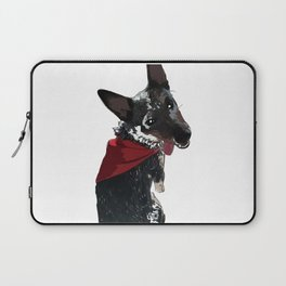 Adorable Dog Wrigley Laptop Sleeve