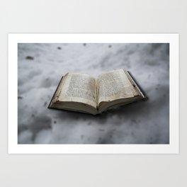 Book's little world Art Print
