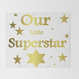Superstar Glam Throw Blanket
