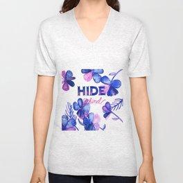 Hide Behind Unisex V-Neck