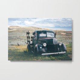 Forgotten Flatbed Truck Metal Print