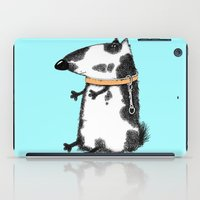 dog iPad Cases featuring DOG by Кaterina Кalinich